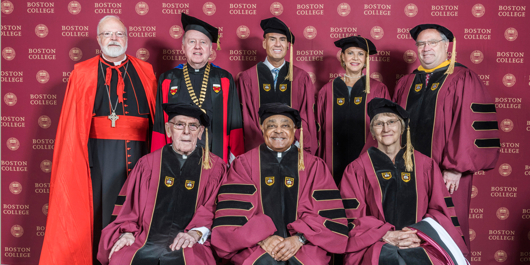 Boston College honorary degree recipients - Commencement 2018