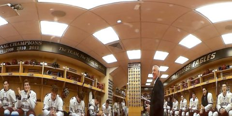 Inside Jerry York's locker room