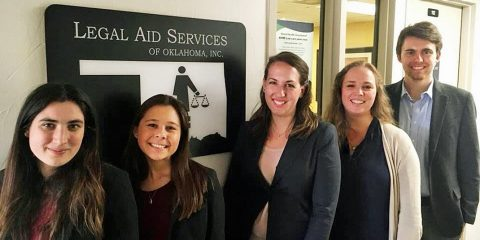 BC Law Students at Legal Aid Services