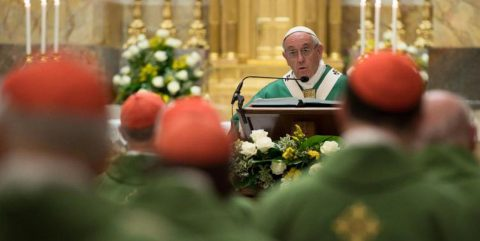 Pope Francis (CNS photo/L'Osservatore Romano)