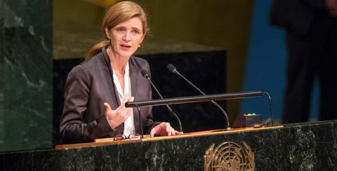 Former UN Ambassador Samantha Power