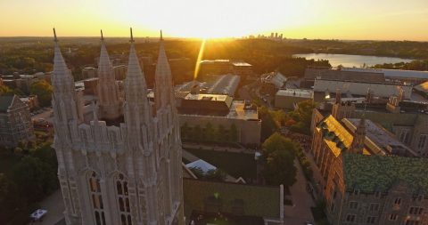 Gasson at sunrise