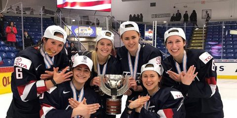 BC Eagles on Team USA for World Championships