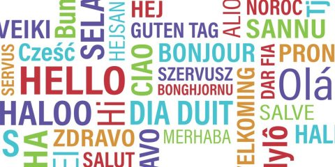 'Hello' in different languages