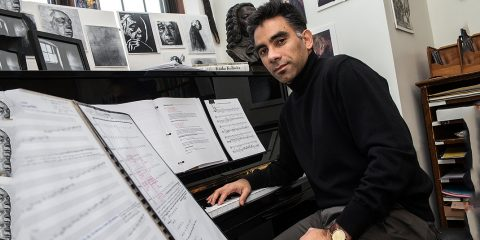Associate Professor of Music Ralf Yusuf Gawlick