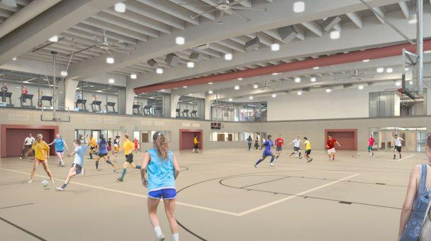 The Margot Connell Recreation Center University