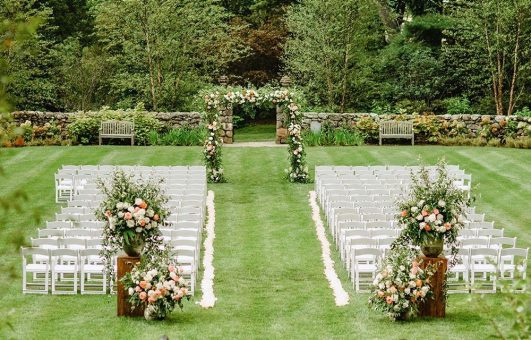 Connors Lawn Outside Wedding