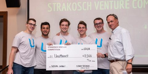 Strakosch Competition winners UniMarkit