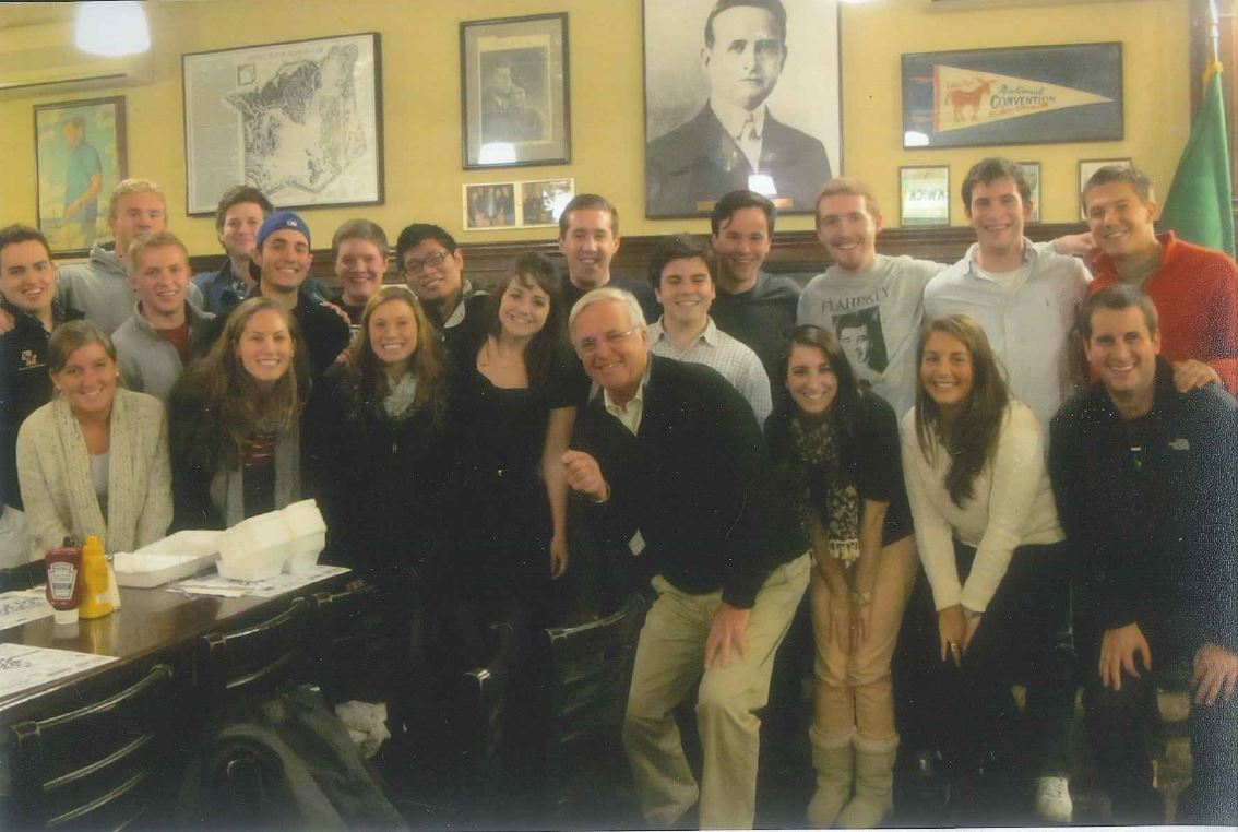 Group photo of Labor Law Seminar at Doyle's