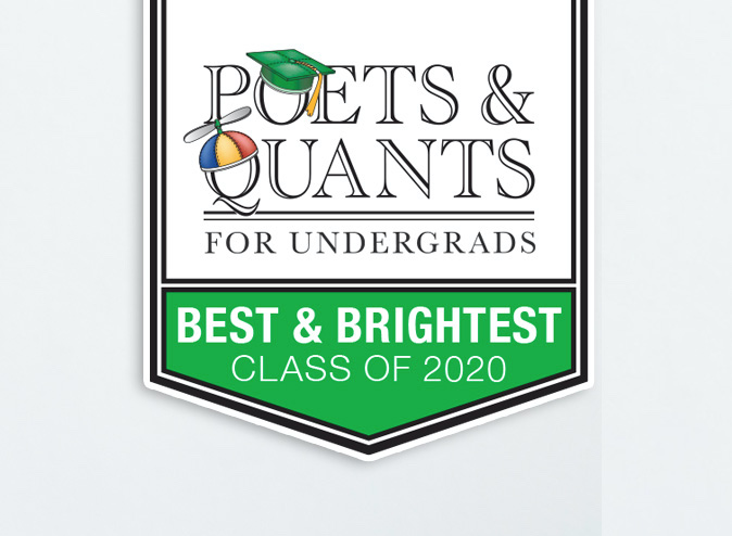 Poets and Quants Best and Brightest of 2020 logo