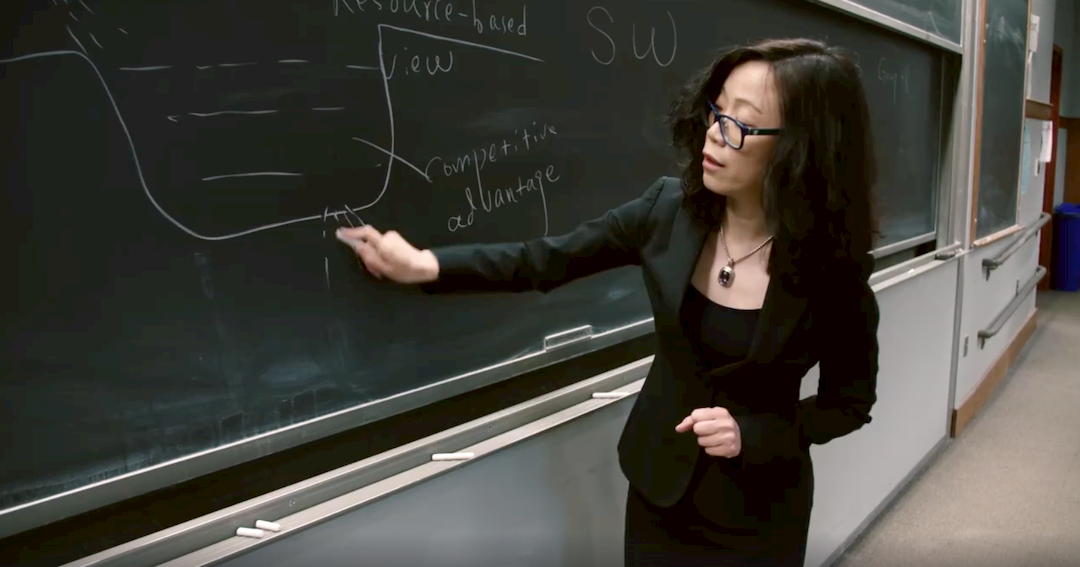 Photo of Tieying Yu, associate professor in the Management and Organization department at the Carroll School of Management