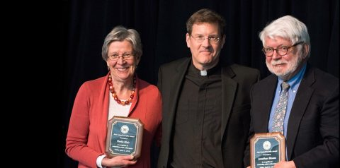 Sheila Blair, Greg Kalscheur SJ, Jonathan Bloom