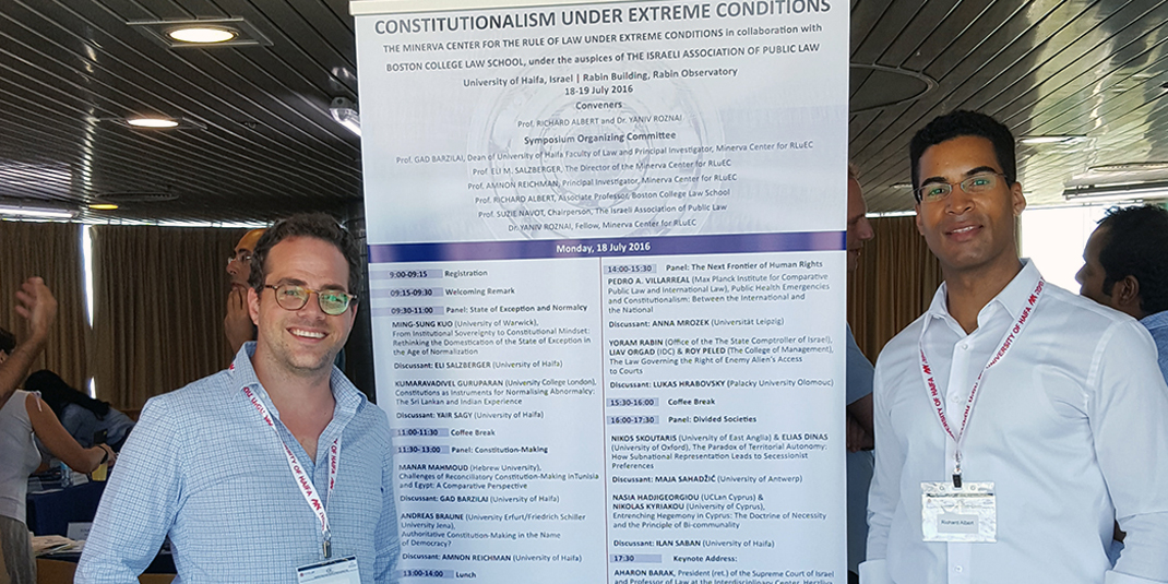 Albert Organizes Constitutionalism Conference in Israel