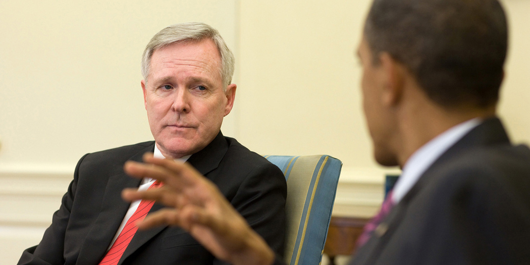 United States Secretary of the Navy Ray Mabus