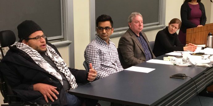Students and Faculty on Immigration Ban Panel