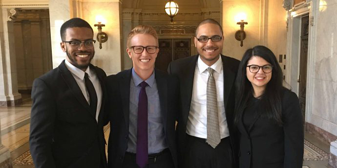 Ninth Circuit students photo