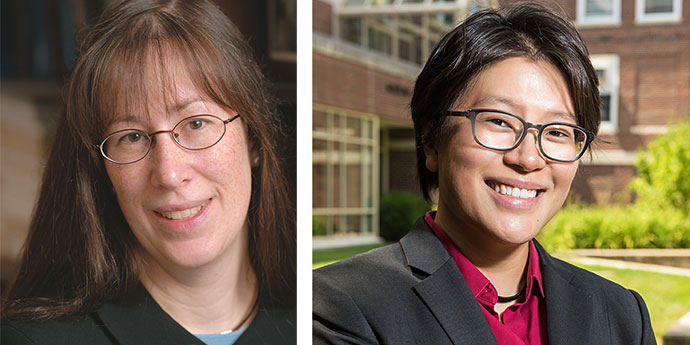 Prof. Diane Ring and Shu Yi Oei