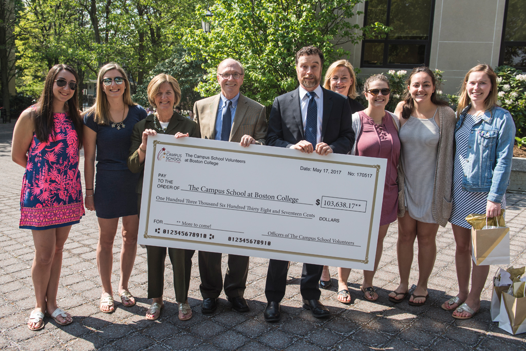 Students Raise $100,000 for the Campus School