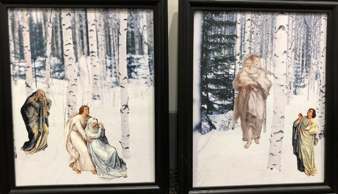 """Winter Vision: Snow Queen"" by Barbara Adams Hebard, Burns Library"
