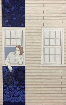 """Lady in the Window"" by Christopher Houston-Ponchak, Library Systems"