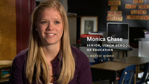 Monica Chase, Senior, Lynch School of Education