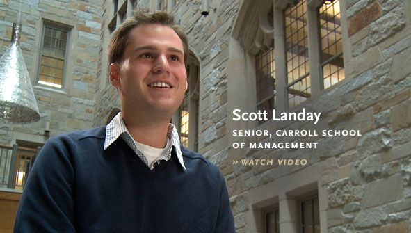 Scott Landay, Senior, Carroll School of Management