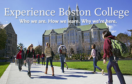 Experience Boston College, who we are, how we learn, why we're here.