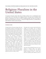 Religious Pluralism in the US