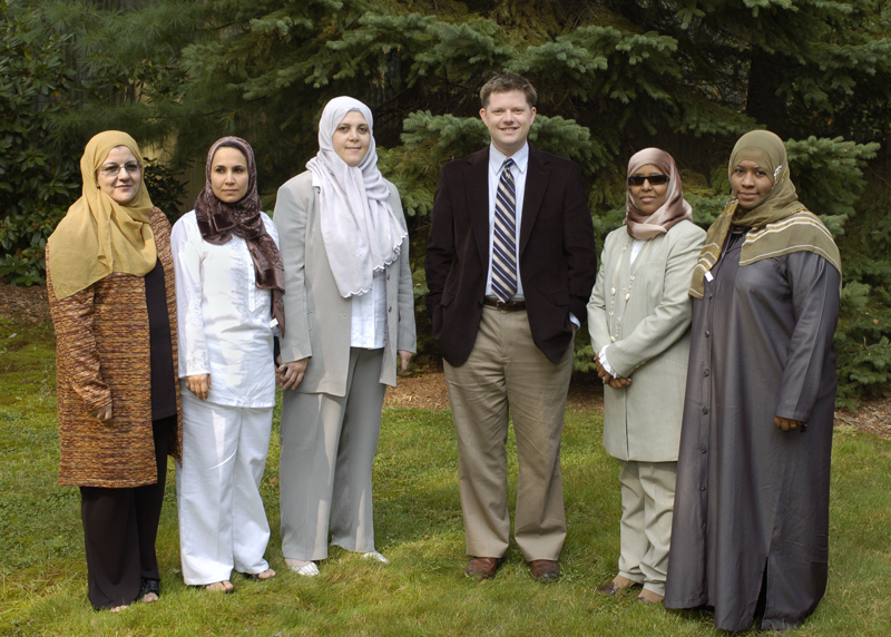 Erik Owens meets with educators and policymakers from the Saudi Arabian Ministry of Education.