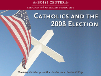 Catholics and the 2008 Election