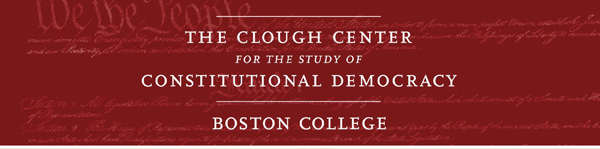 The Clough Center for the Study of Constitutional Democracy