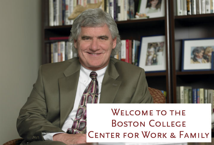 Welcome to the BC Center for Work & Family from Brad