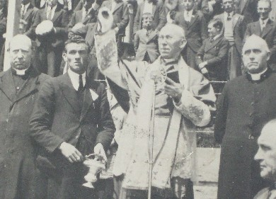 Opening of Fitzgerald Stadium