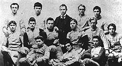 1893 BC Football Team
