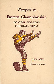 Dinner Program, second Eastern Championship