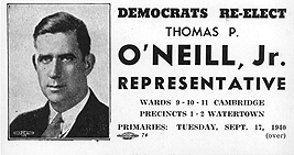 1939 Tip O'Neill campaign poster