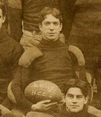 Football Captain, Charles Kiley