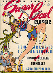 7th Sugar Bowl souvenir program