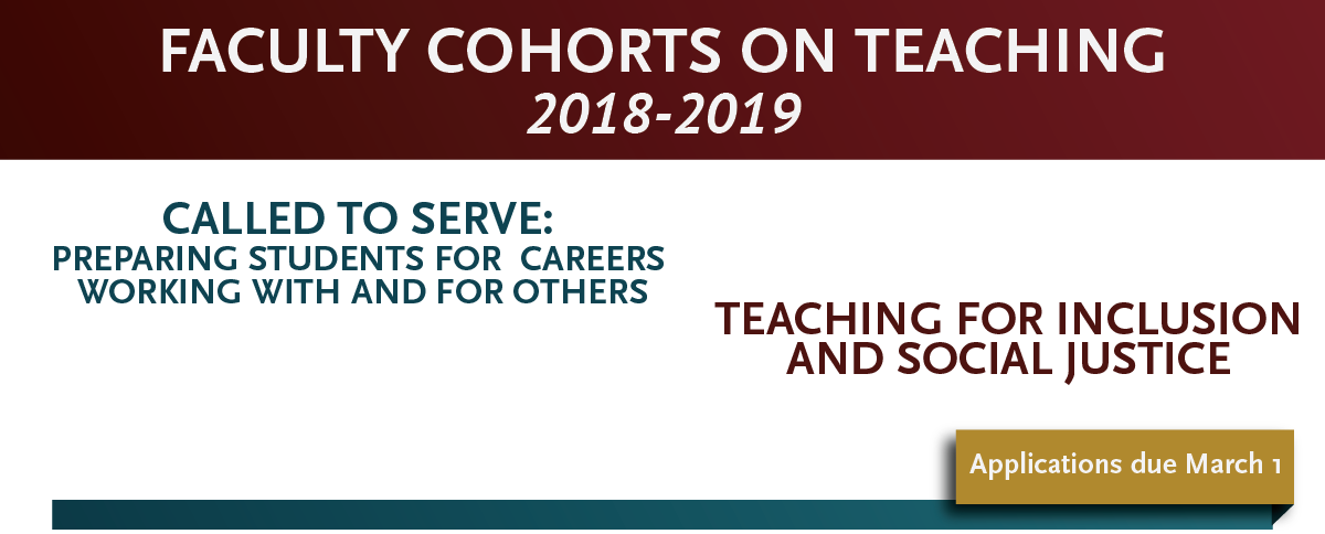 Faculty Cohorts on Teaching
