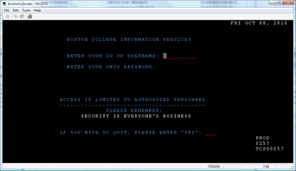Install BC UIS - Technology Help - Boston College