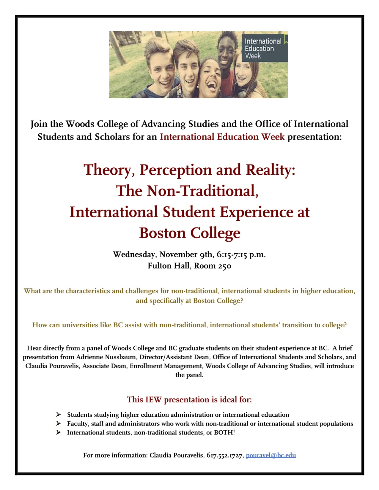 international education week office of international programs file
