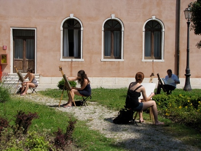 Drawing course in Venice, Sumer  2010