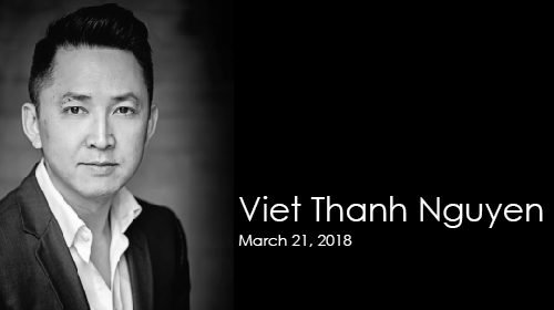 Viet Thanh Nguyen on March 21