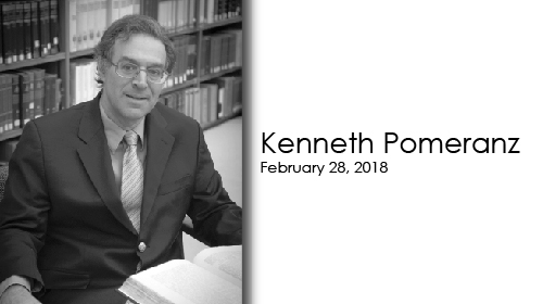 Kenneth Pomeranz on February 28