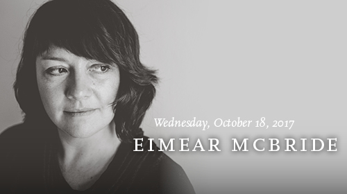 Eimear McBride on October 18