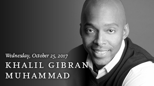 Khalil Gibran Muhammad on October 25