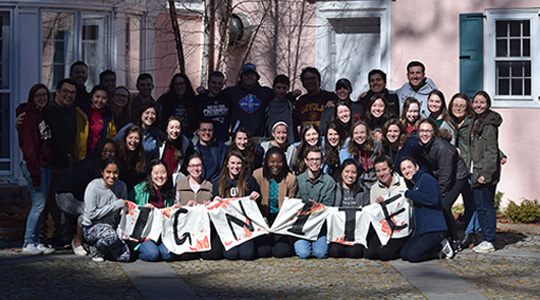 group photo of Ignite students 2017