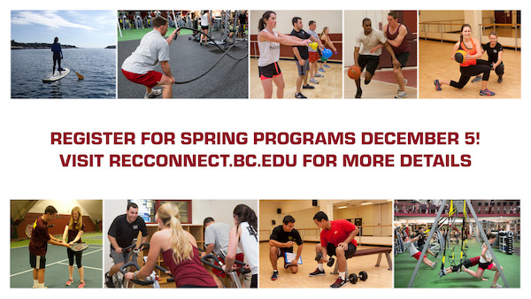 Spring programs at the plex