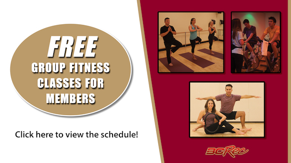 free group fitness classes for members