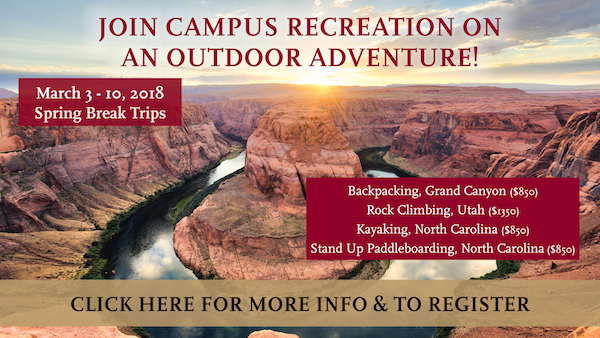 join us on a spring break adventure